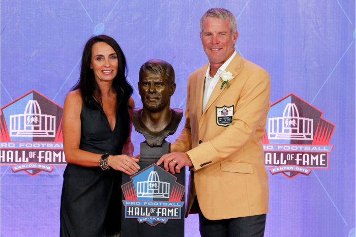Brett Favre's Wife Helped Save His Life