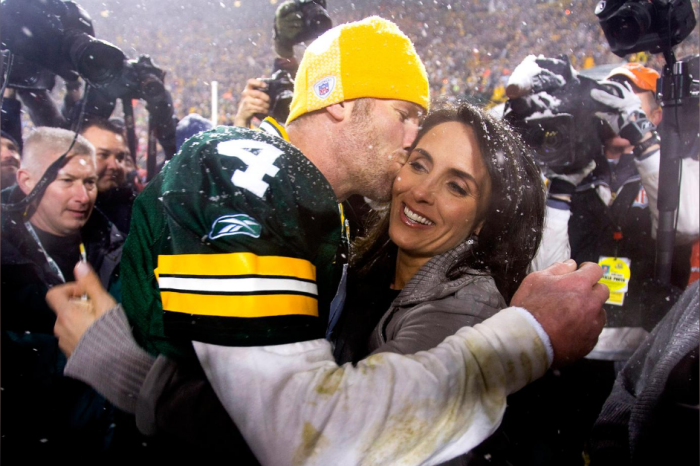 Brett Favre's Wife Helped Kick His Addictions. Then, She Beat Cancer