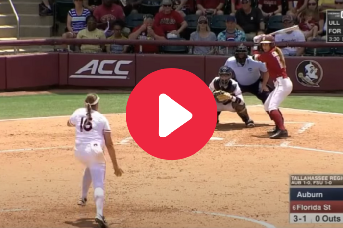 Carsyn Gordon's Inside-The-Park HR Kickstarted FSU's Title Run