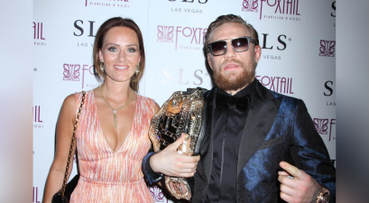 Conor McGregor Proposes to Longtime Girlfriend With Massive Ring