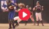 Dirty Softball Catcher Elbow