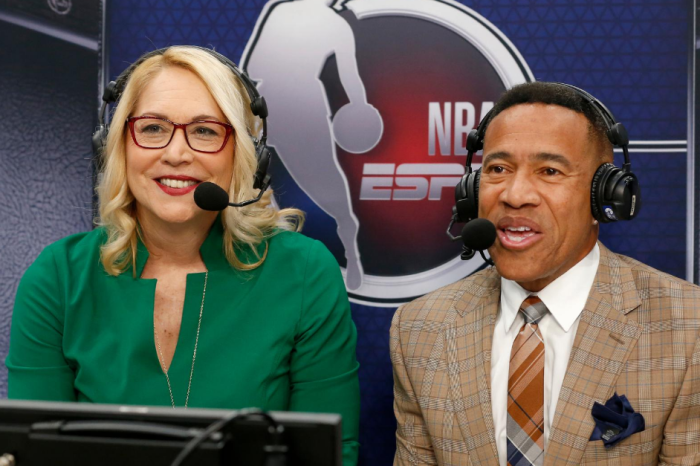 Doris Burke Roasted Her Ex-Husband on TV, Proving She's the Greatest