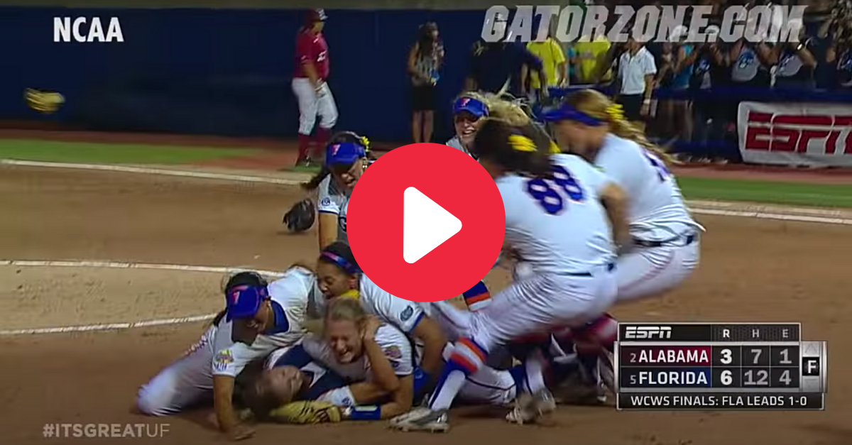 Relive Florida's Final Out to Capture Gators' First WCWS Title