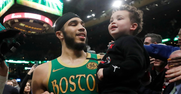 Jayson Tatum Is a Young Father Playing for His Family