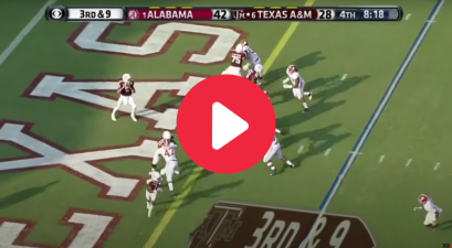 """Manziel to Evans"" Produced 95 Yards of Magic Against Alabama"