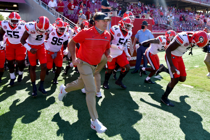 Georgia's 2021 Schedule Has CFP Written All Over It
