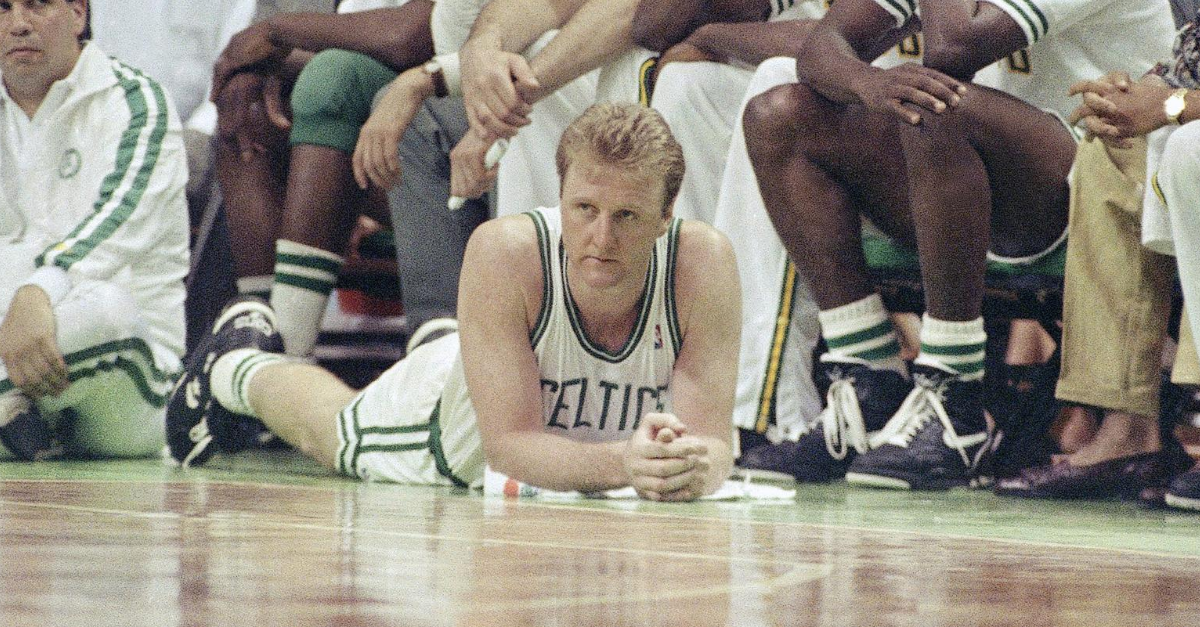 "Larry Bird Could Barely Walk, But Boston Needed ""Larry Legend"" One Last Time"