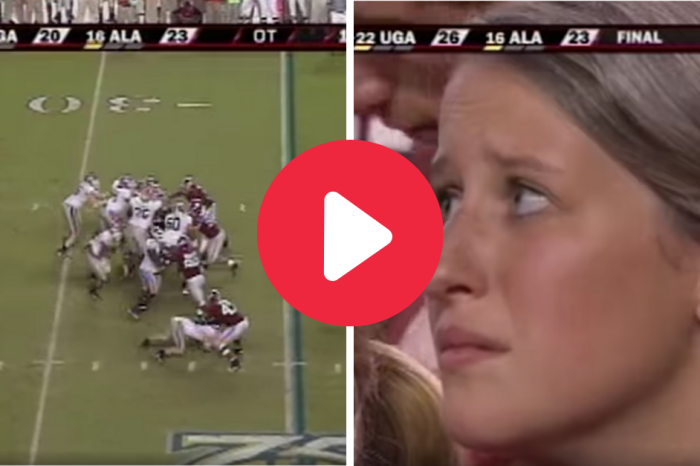 Matthew Stafford's Thrilling Overtime TD Nearly Brought Alabama Fans To Tears