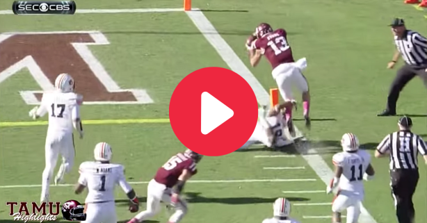 Mike Evans' 287-Yard Explosion Broke His Own A&M Record