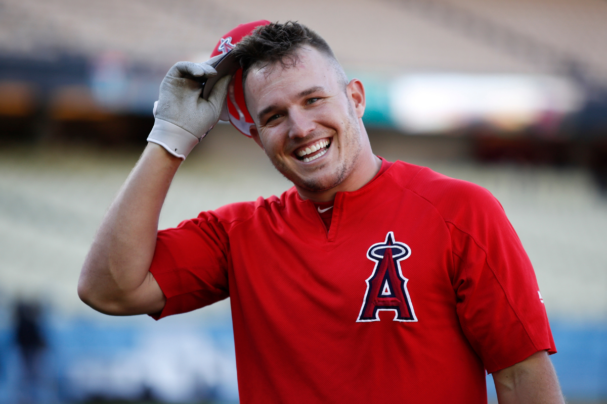 Mike Trout Met His Wife in High School Spanish Class