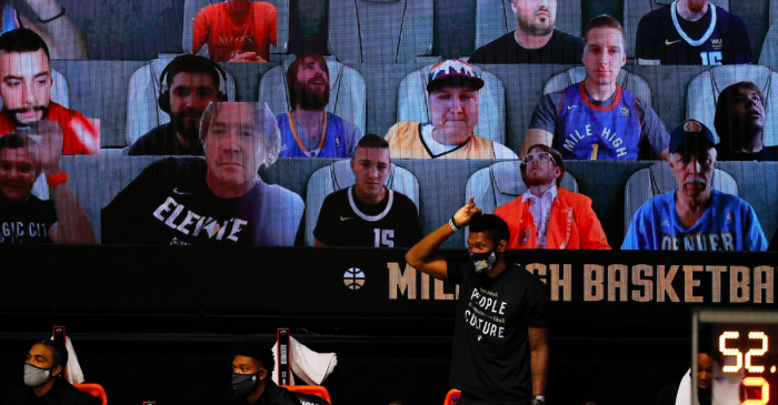 The NBA's Virtual Fans Are Incredible. Here's How to Become One
