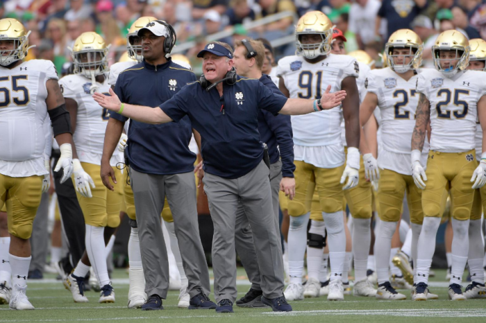Notre Dame Will Finally Play a Conference Schedule in 2020