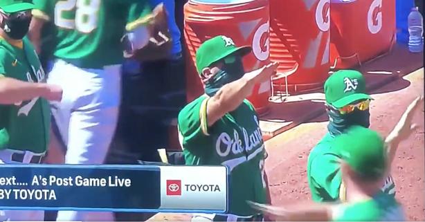 Apparent Nazi Salute Lands MLB Coach in Hot Water