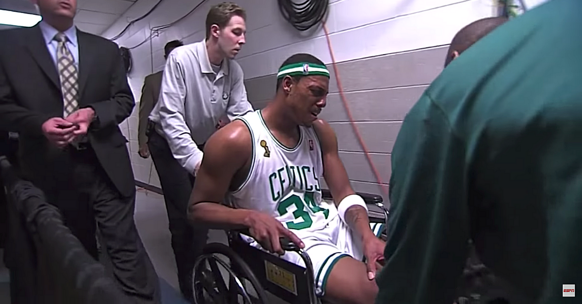 Poopgate: A Look Inside Paul Pierce's Famous Wheelchair Game