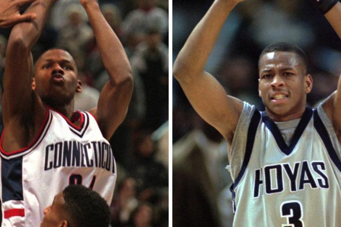 Ray Allen vs. Allen Iverson: One Shot Decided '96 Big East Championship