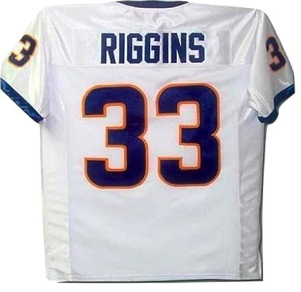 borizcustoms Friday Night Tim Riggins 33 Football Jersey New Stitch Sewn White