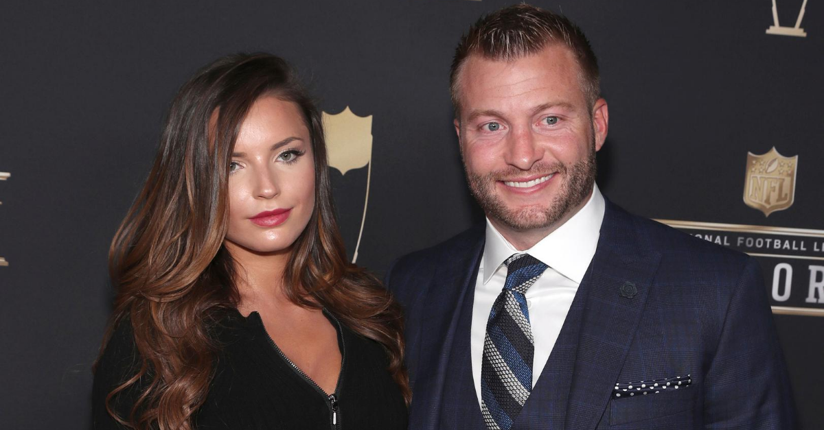 Sean Mcvay Wife Who Is Veronika Khomyn How Did They Meet Fanbuzz