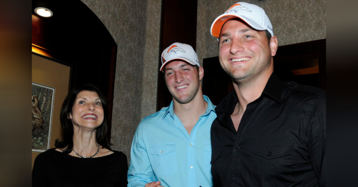 "Tim Tebow's Brother Was Once Cited For ""Striking a Police Horse"""