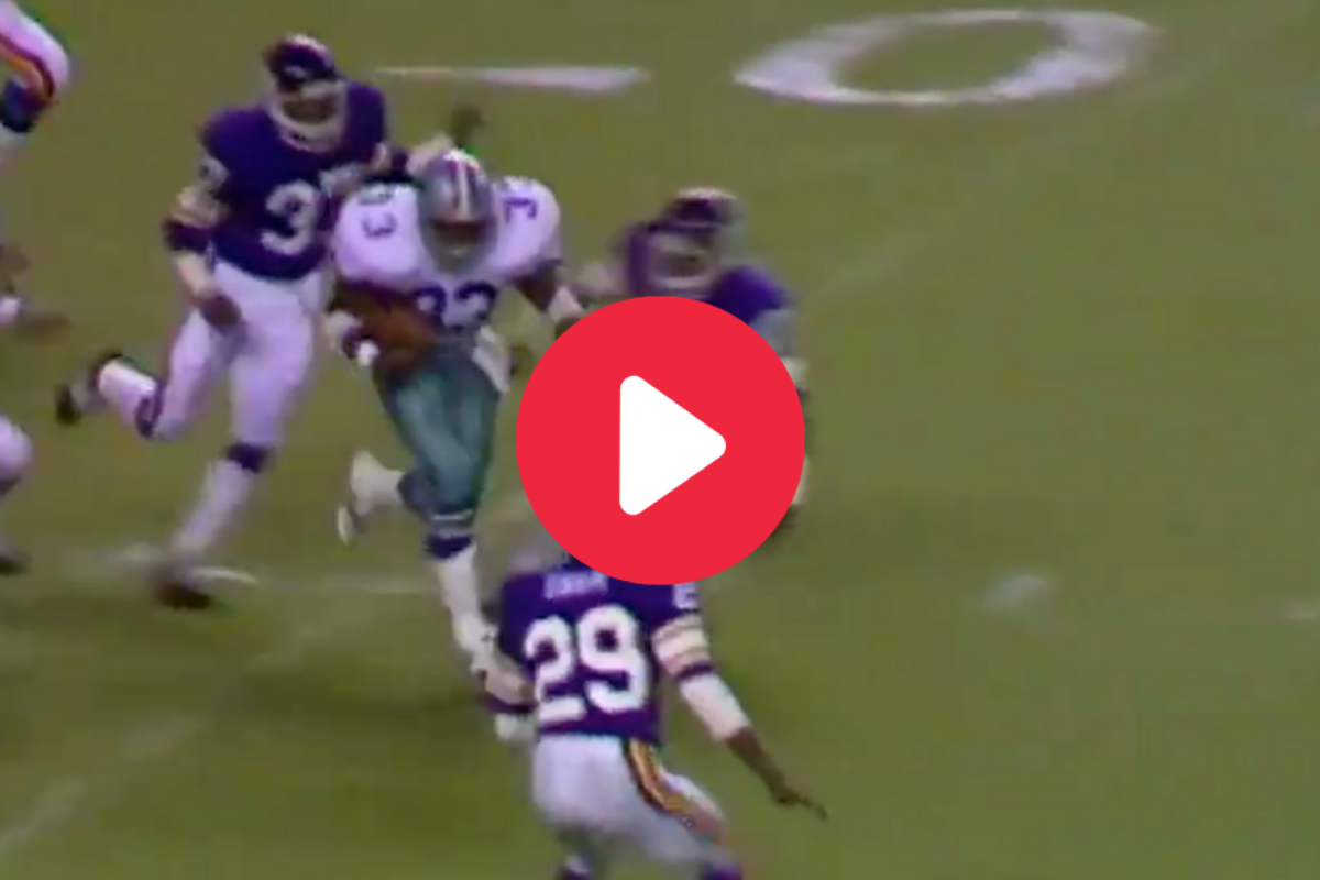Tony Dorsett's 99-Yard Run Made NFL History Look Easy