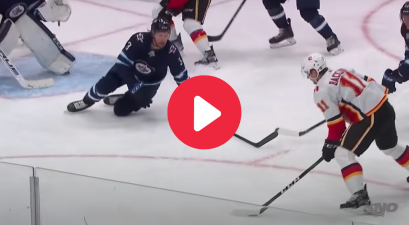NHL Player Blocks Puck With His Face, And Somehow Returns to Game