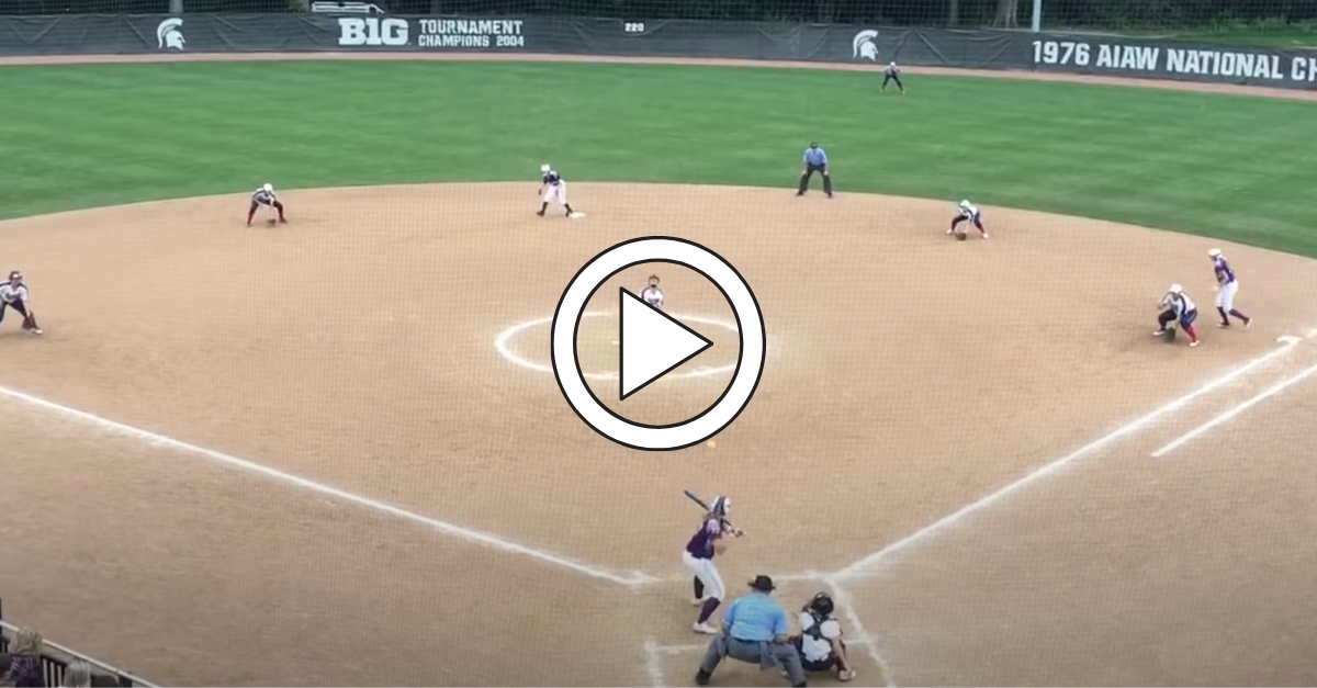 Improbable Walk-Off Triple Play Wins Softball State Title