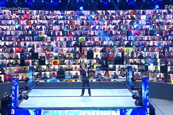 WWE ThunderDome Brings Fans Back to Pro Wrestling's Ringside