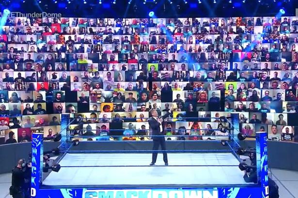 WWE ThunderDome Brings Fans Back to Pro Wrestling's Ringside