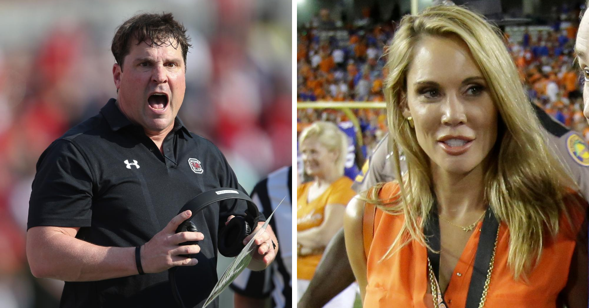 Will Muschamp's Wife Used To Teach Anger Management Classes