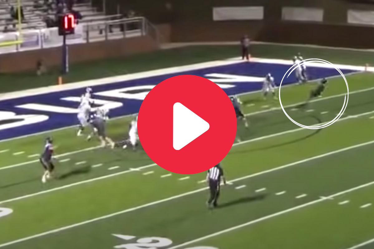 """Creative HS Trick Play Combines """"Fainting"""" With Lineman TD"""