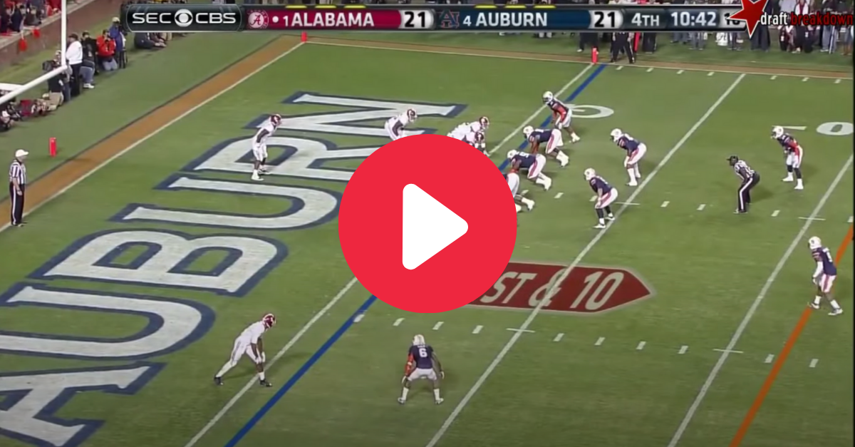 Amari Cooper's 99-Yard Catch Historically Embarrassed Auburn