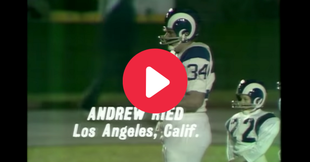 Andy Reid Dwarfed His Football Competition as a Teenager