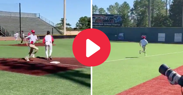 "Baseball Player Nails ""Forrest Gump"" Impression, Never Stops Running"