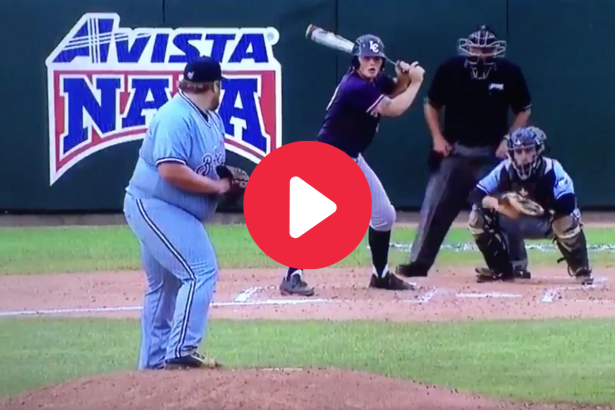 This 300–Pound Pitcher Proved Size Doesn't Matter