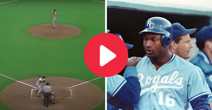 Bo Jackson's First Home Run Traveled 475 Feet