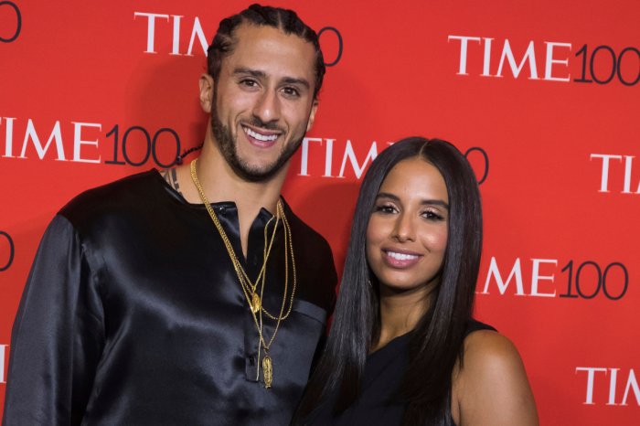 Colin Kaepernick's Girlfriend Has His Back & Speaks Her Mind