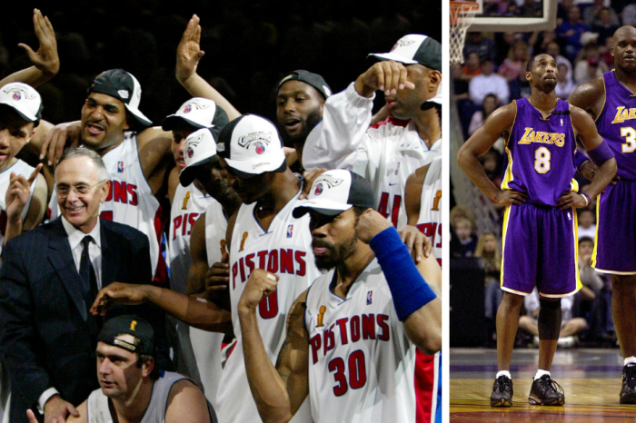 The 2004 Detroit Pistons Officially Broke Up a Lakers Dynasty