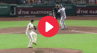 MLB Player Takes 99 MPH Fastball to Head, Walks To First Like a Champ