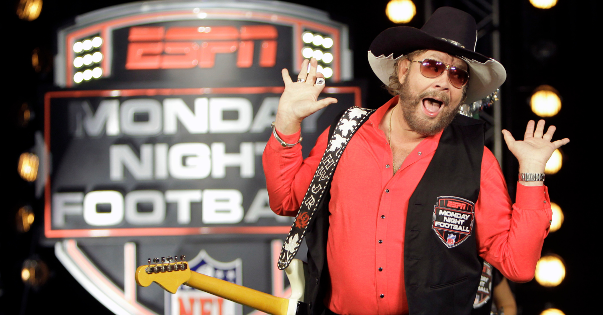 "ESPN Dumps Hank Williams Jr. Song for New ""MNF"" Intro"