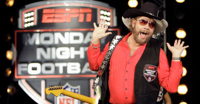 "ESPN Dumps Hank Williams Jr. Song for New ""MNF"" Intro"
