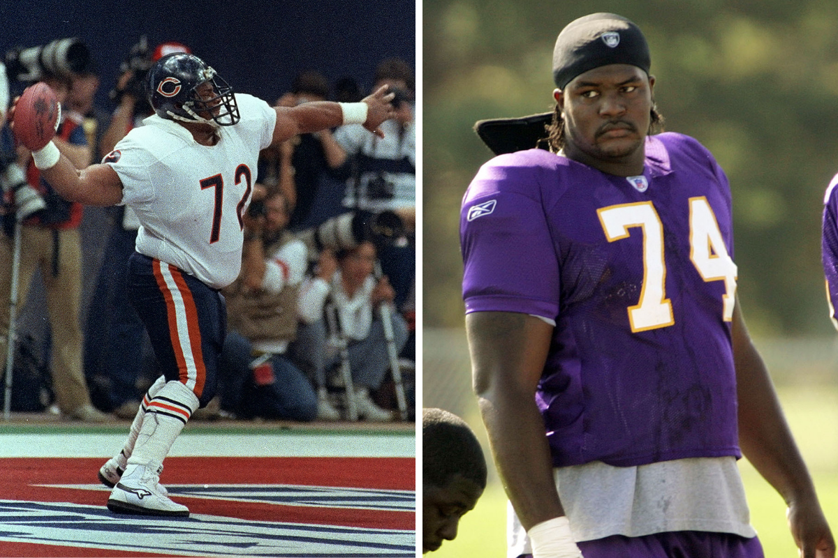 The 11 Heaviest NFL Players of All Time Break Every Scale