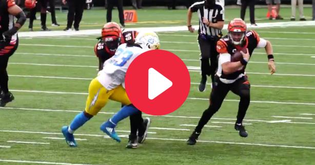 Joe Burrow's 1st NFL Touchdown Showed Off His Wheels