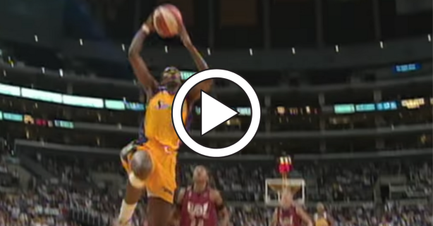 Lisa Leslie's First WNBA Dunk Changed Women's Basketball Forever