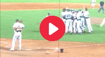 HS Pitcher Ditches Celebration to Hug Batter in Heartwarming Moment