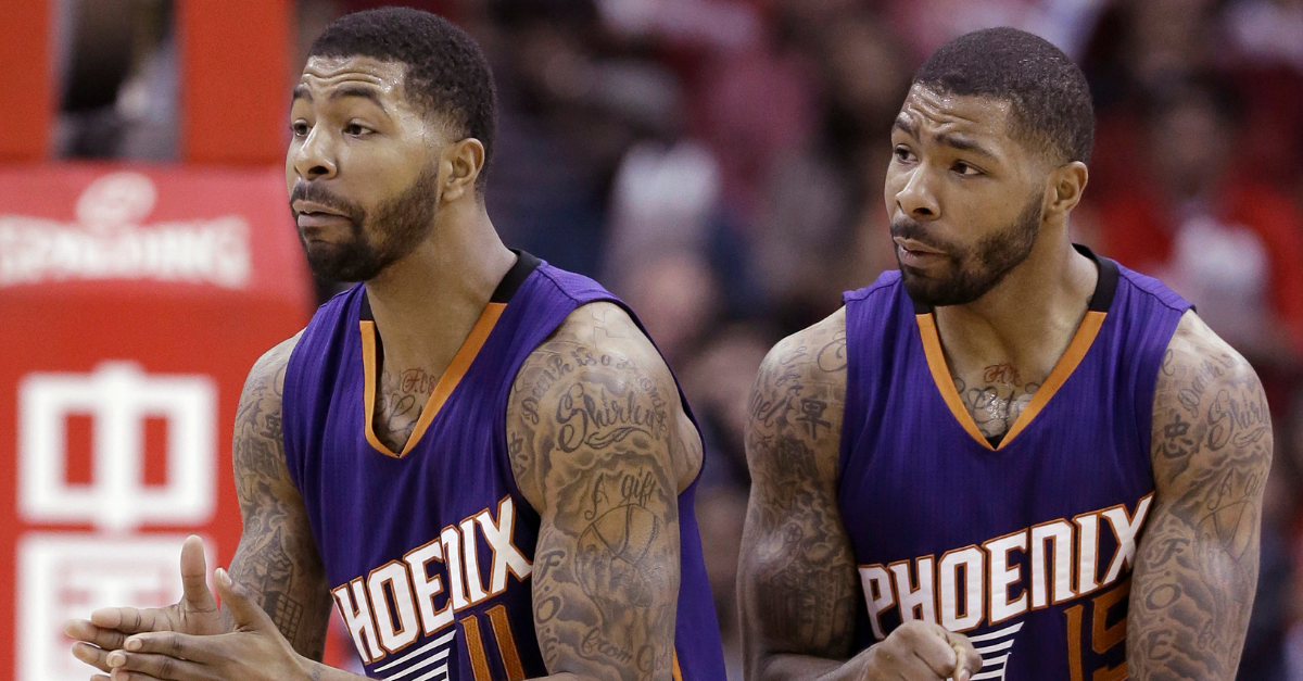 Marcus & Markieff Morris Are Identical Twins With Matching Tattoos