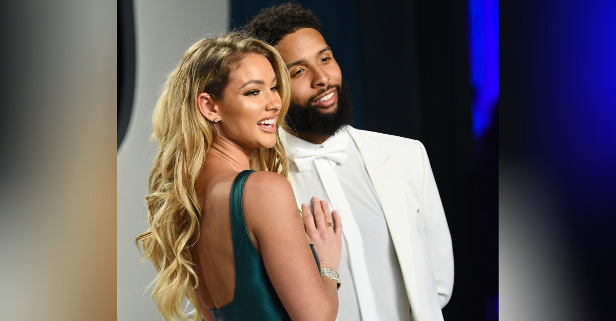 Odell Beckham Jr.'s Girlfriend Embraces His Oddball Personality