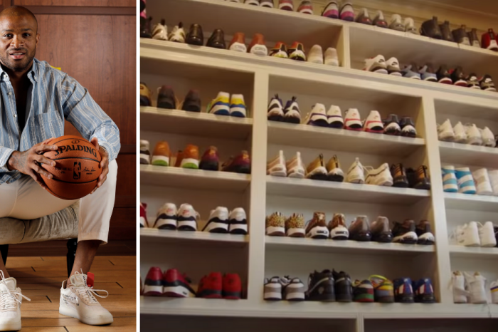 P.J. Tucker's Sneaker Collection is Out of This World