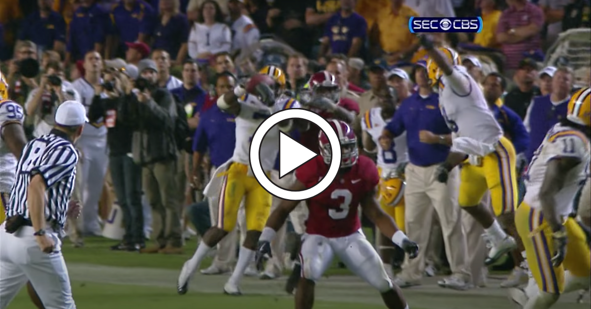 Patrick Peterson Picked Off Alabama, No Matter What Anyone Else Says