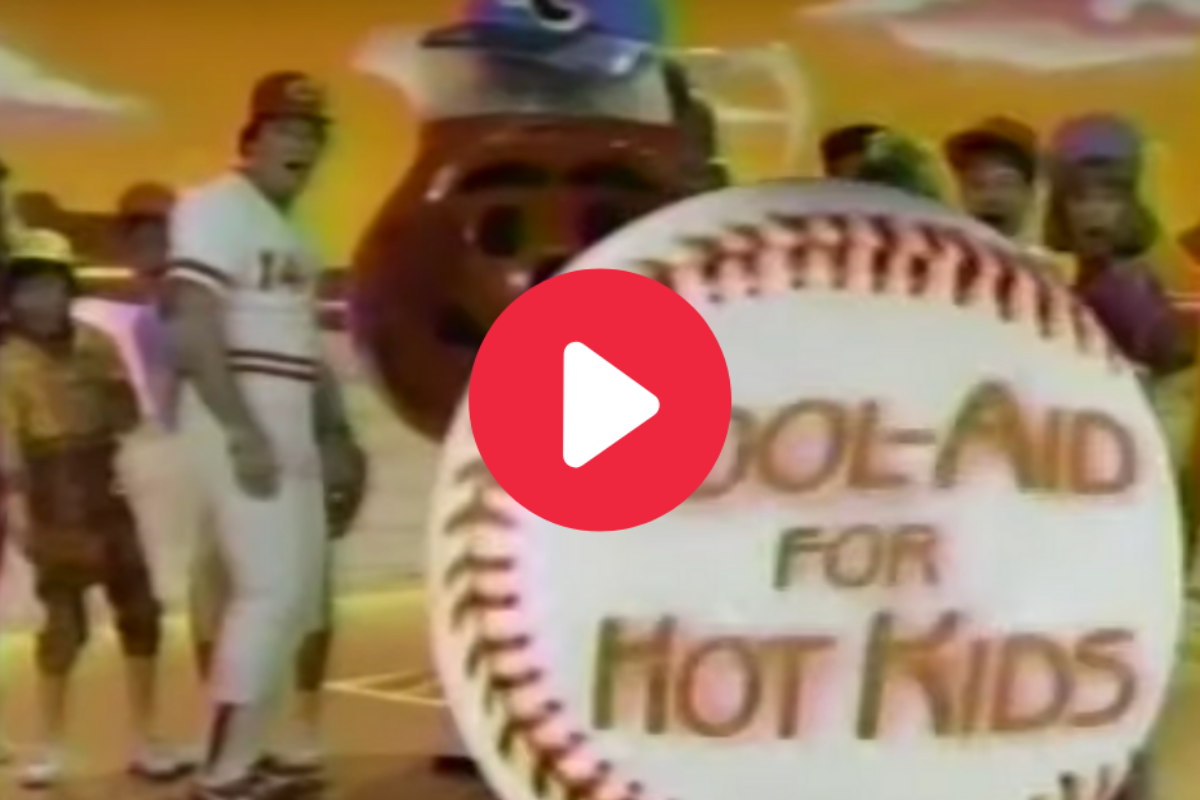 Pete Rose's 'Kool-Aid' Commercial is a Forgotten Treasure