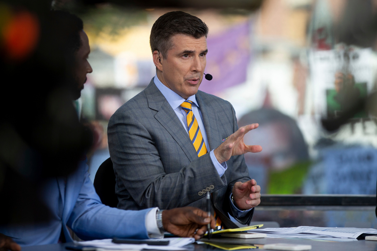 Rece Davis & His Wife Are Madly in Love, But Also Iron Bowl Rivals