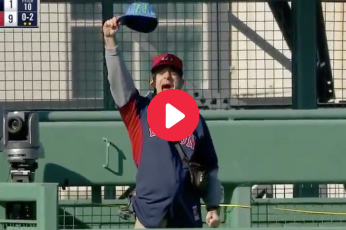 Heckler Breaks Into Fenway, Yells & Throws Items During Game